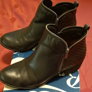 Lucky leather  Bartalino bootie